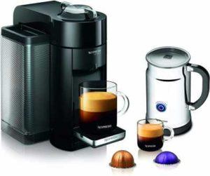 Nespresso A+GCC1-US-BK-NE VertuoLine Evoluo Deluxe Coffee & Espresso Maker